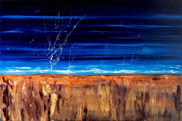 Leanne Venier's Flow State Painting
