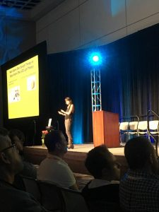 Leanne Venier Speaking at Bulletproof Conference