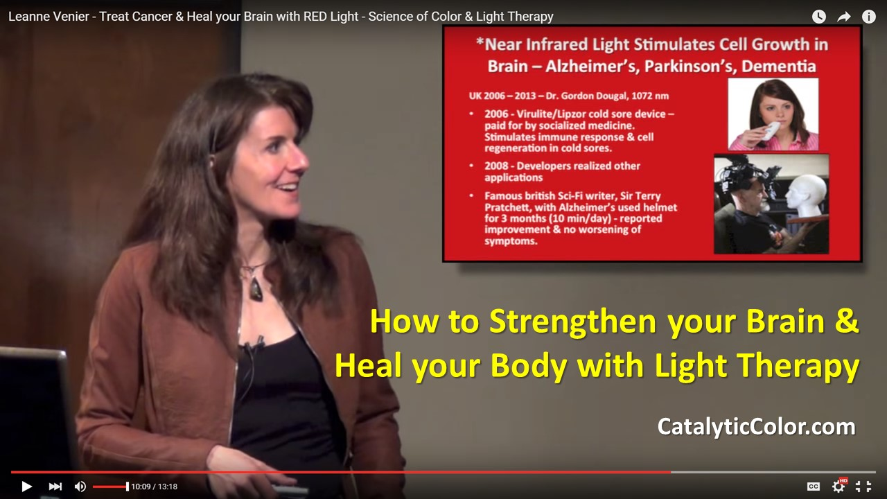 How Light Therapy Heals Cancer Improves Brain Function