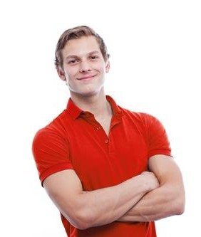 handsome-man-wearing-red-polo-shirt
