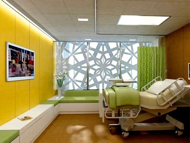 Do Hospital Er Have Different Color Rooms